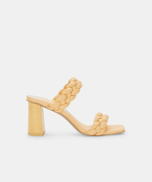 PAILY HEELS IN BUTTERCUP STELLA -   Dolce Vita