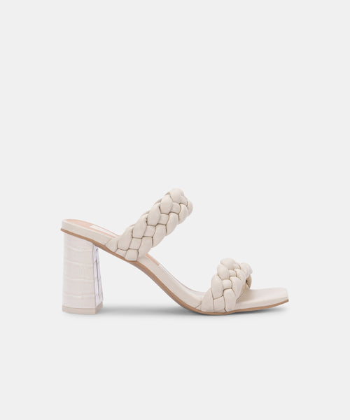 PAILY HEELS IN IVORY STELLA -   Dolce Vita