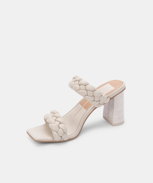 PAILY HEELS IN IVORY STELLA