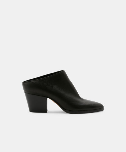 ROYA MULES IN BLACK -   Dolce Vita
