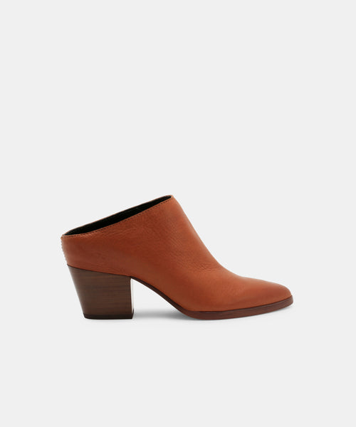 ROYA MULES IN BROWN -   Dolce Vita