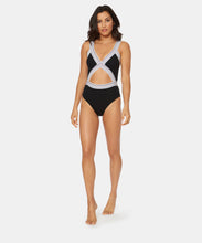 FAST LANE SOLID BLAIRE ONE PIECE IN BLACK -   Dolce Vita