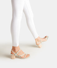 ZYDA HEELS IN MINT EMBOSSED LIZARD -   Dolce Vita