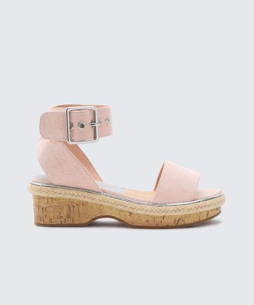 ADRIEL WEDGES IN BLUSH -   Dolce Vita