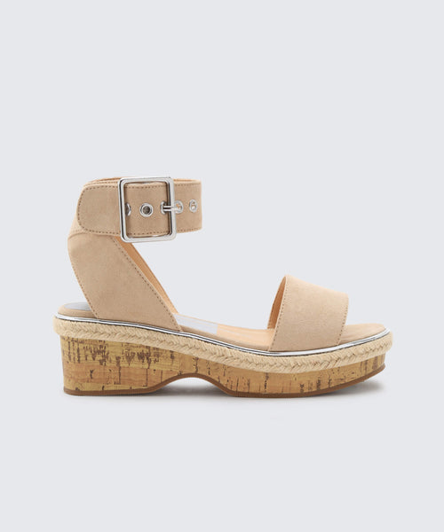 ADRIEL WEDGES IN SAND -   Dolce Vita