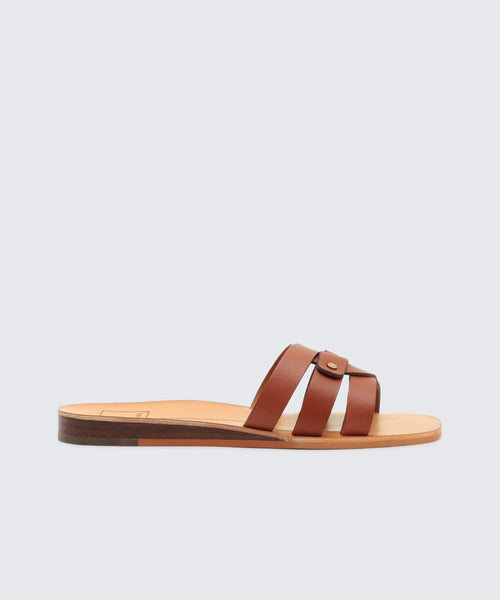 CAIT SANDALS IN BROWN -   Dolce Vita