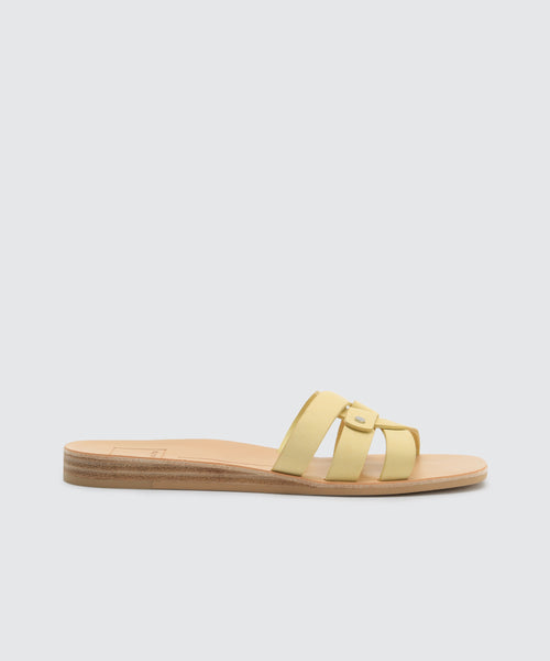 CAIT SANDALS IN LEMON -   Dolce Vita