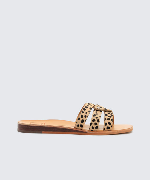 CAIT SANDALS IN LEOPARD -   Dolce Vita