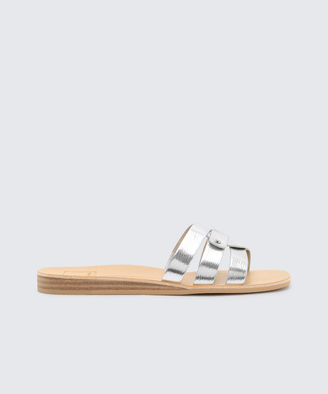 CAIT SANDALS IN ETCHED SILVER -   Dolce Vita