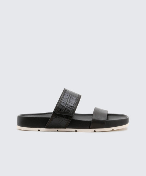 CATON SANDALS IN BLACK -   Dolce Vita