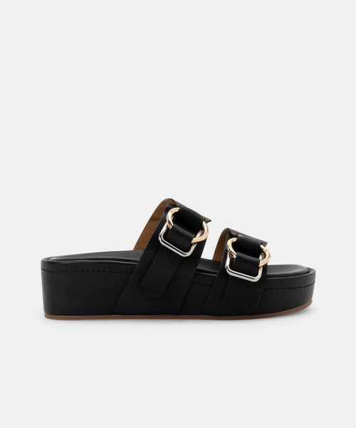 CICI SANDALS IN BLACK STELLA -   Dolce Vita