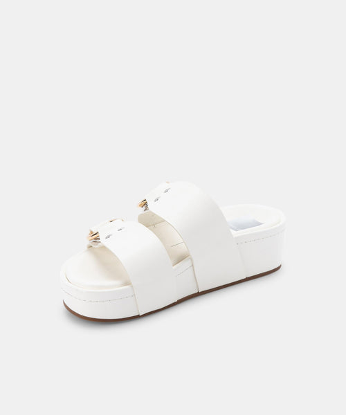 CICI SANDALS WHITE STELLA