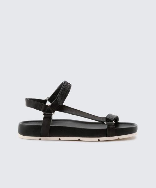 COLM SANDALS IN BLACK -   Dolce Vita