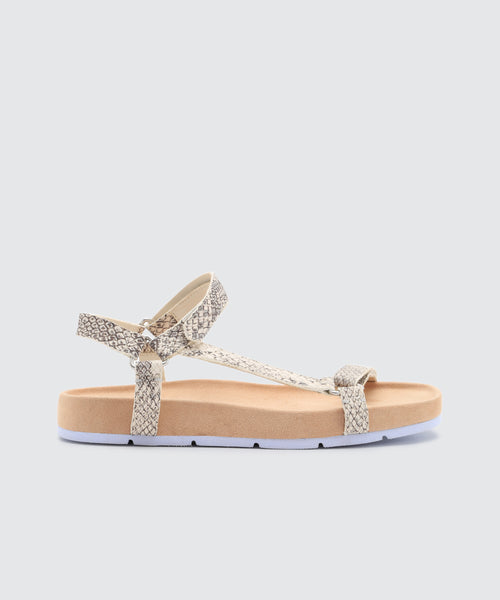 COLM SANDALS IN SNAKE -   Dolce Vita
