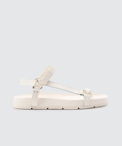 COLM SANDALS IN WHITE -   Dolce Vita