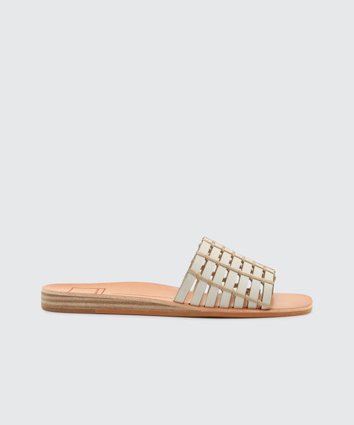 COLSEN SANDALS IN IVORY -   Dolce Vita