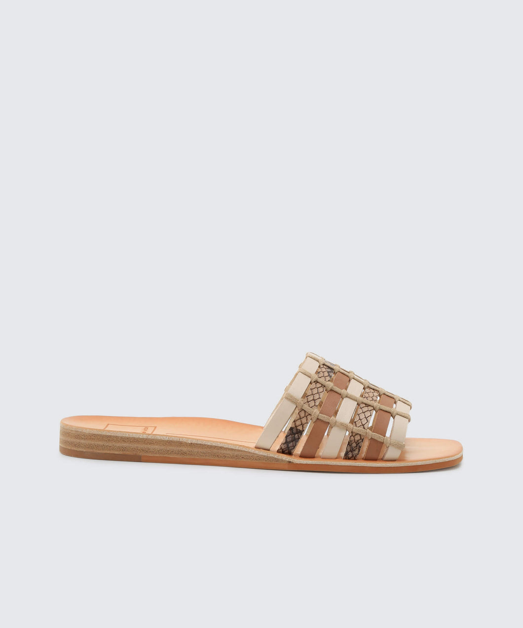 COLSEN SANDALS IN NATURAL MULTI -   Dolce Vita