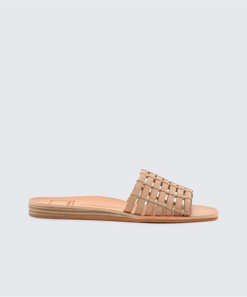 COLSEN SANDALS IN NUDE -   Dolce Vita