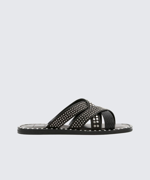 CORBEY SANDALS IN BLACK -   Dolce Vita