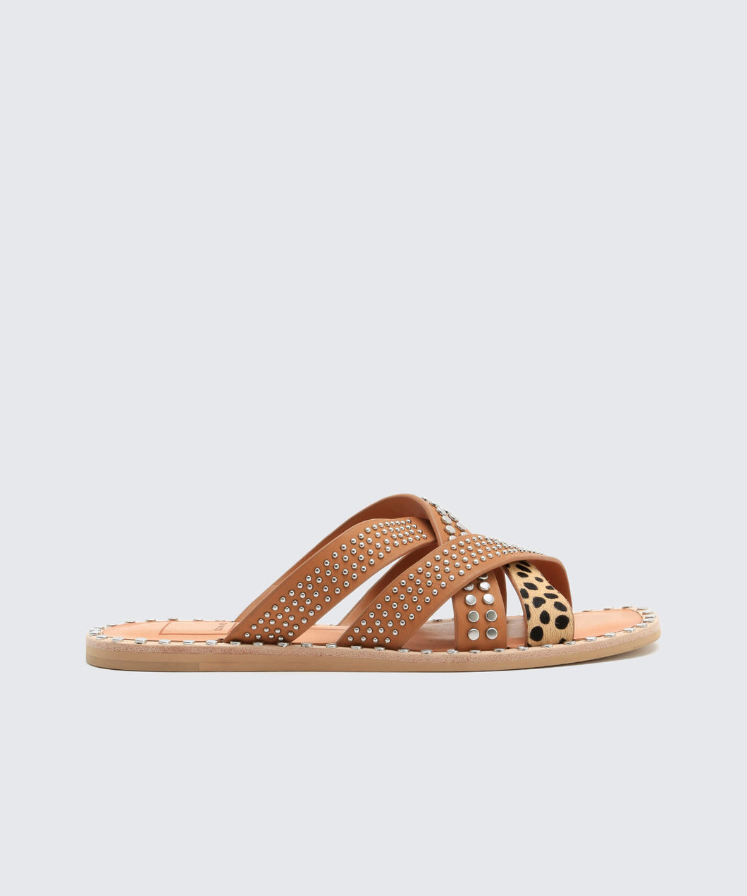 CORBEY SANDALS IN CARAMEL -   Dolce Vita