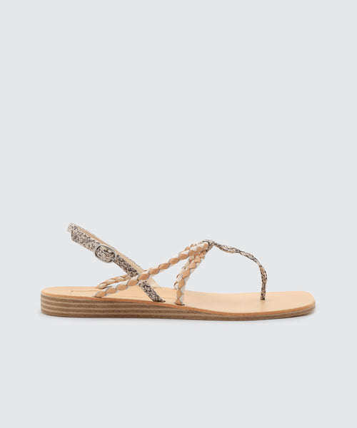 CREE SANDALS IN SNAKE -   Dolce Vita