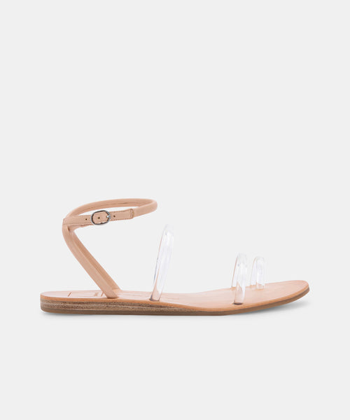 DAREN SANDALS IN CRYSTAL VINYL -   Dolce Vita