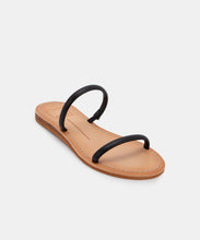 DARLA WIDE SANDALS IN BLACK STELLA -   Dolce Vita