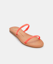 DARLA WIDE SANDALS IN CORAL -   Dolce Vita