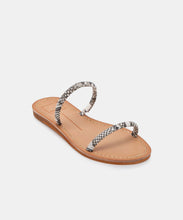 DARLA WIDE SANDALS IN SHADOW SNAKE PRINT STELLA -   Dolce Vita