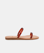 DARLA WIDE SANDALS IN TORTOISE VINYL -   Dolce Vita