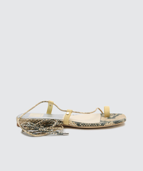 DASH SANDALS IN LEMON -   Dolce Vita