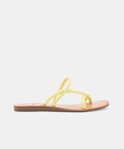 DEXLA SANDALS IN CITRON -   Dolce Vita