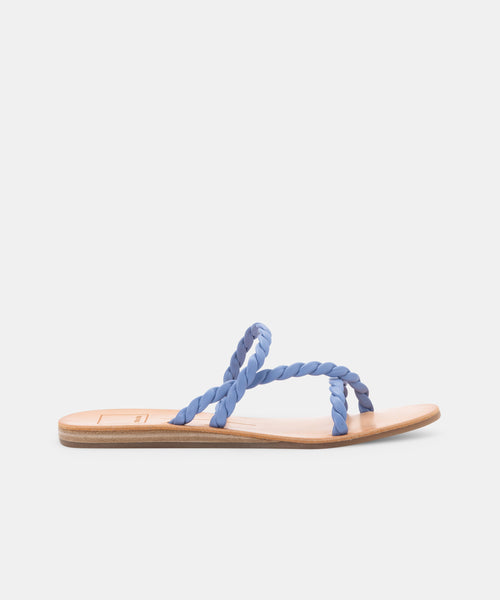 DEXLA WIDE SANDALS DUSTY BLUE STELLA -   Dolce Vita