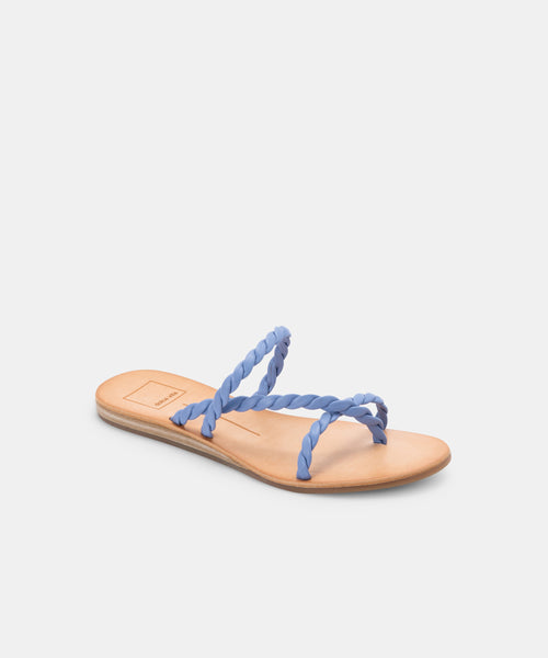 DEXLA SANDALS IN DUSTY BLUE STELLA -   Dolce Vita