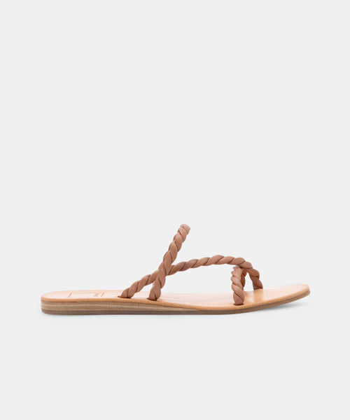DEXLA SANDALS IN TAN STELLA -   Dolce Vita