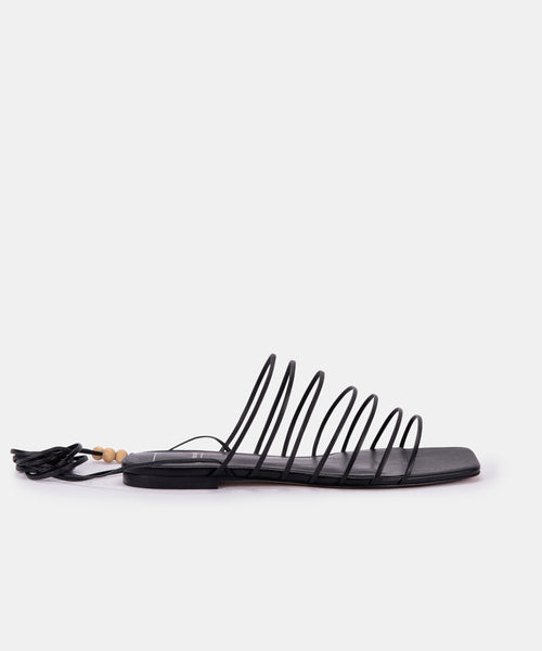 FEBE SANDALS IN BLACK ECO STELLA -   Dolce Vita