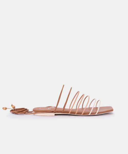 FEBE SANDALS IN NUDE MULTI ECO STELLA -   Dolce Vita