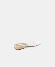 HAIZE SANDALS IN CRYSTAL VINYL -   Dolce Vita