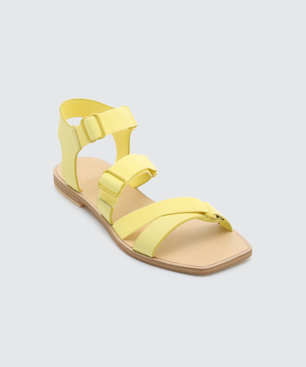 1278a618c6e9 INDAH SANDALS IN CITRON