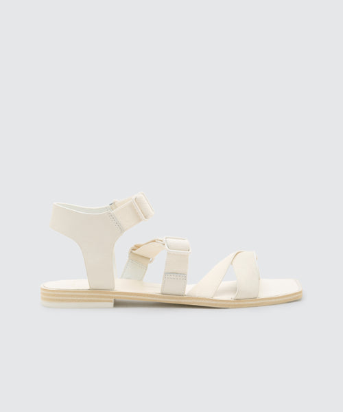 INDAH SANDALS WHITE -   Dolce Vita