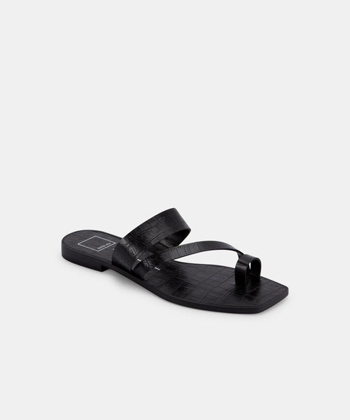 IRENA SANDALS IN BLACK -   Dolce Vita