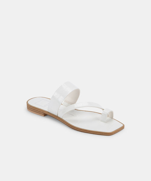 IRENA SANDALS IN WHITE -   Dolce Vita