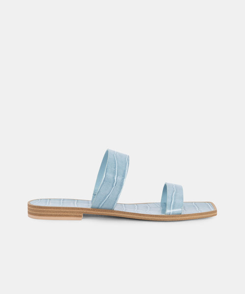 ISAAC SANDALS IN BLUE -   Dolce Vita