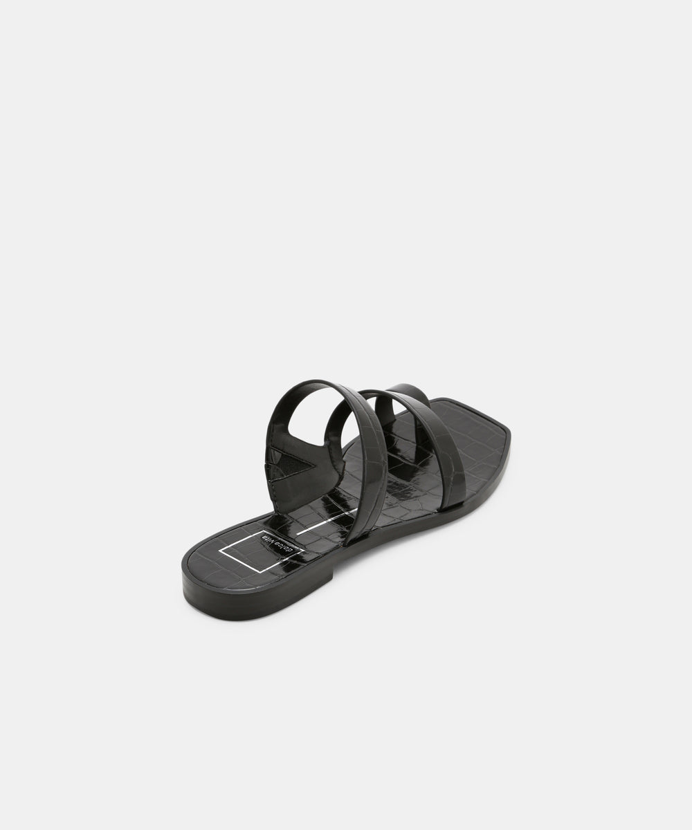 b21e4d4143f9 ISALA SANDALS IN BLACK