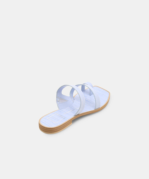 ISALA SANDALS IN BLUE -   Dolce Vita