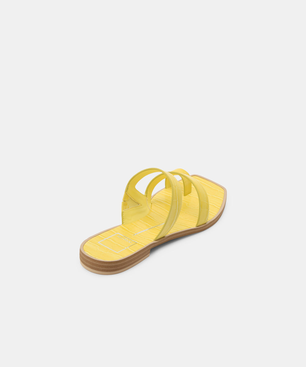 92712742ab1 ISALA SANDALS IN CITRON