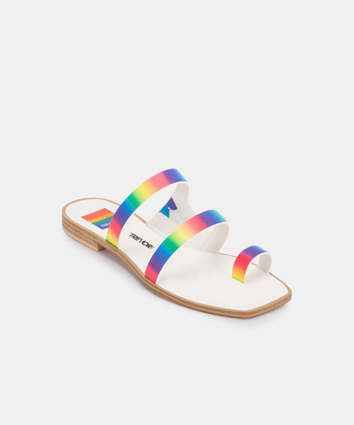 ISALA SANDALS IN RAINBOW STELLA -   Dolce Vita