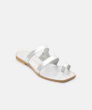 ISALA SANDALS IN SILVER -   Dolce Vita