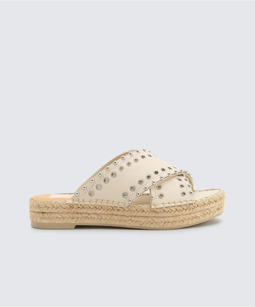 IVA SANDALS IN IVORY -   Dolce Vita