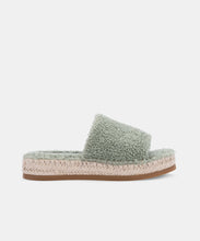 KARLEE SLIPPERS IN JADE PLUSH -   Dolce Vita